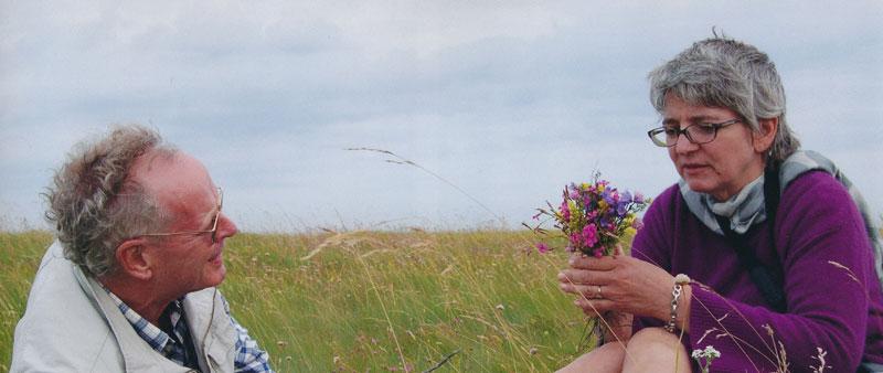 Billede af Gitte og Leo på Endelave